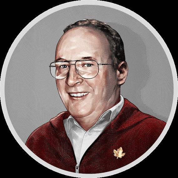 Portrait of Derek Nolan, Founder